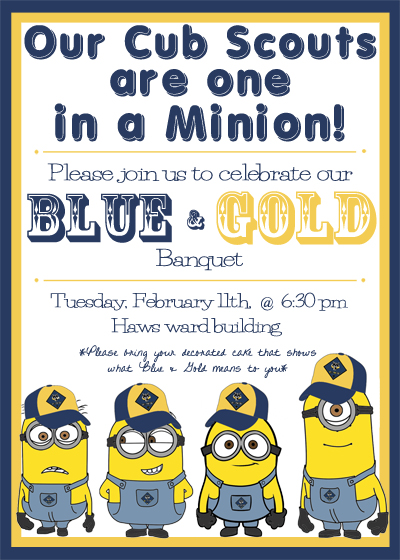 Blue and gold banquet invite tcbotb the cutest blog on for Cub scout blue and gold program template
