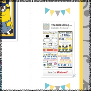 how to add pinterest gadget to blog sidebar