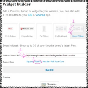 how to add pinterest widget feed to blog sidebar