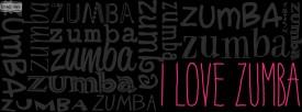 i love zumba in pink