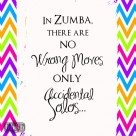 zumba no wrong moves