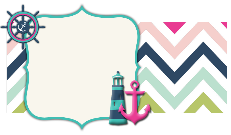 Nautical Banner Chevron Pattern The Cutest Blog On The Block