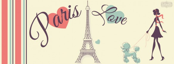 Paris Love Facebook Timeline Cover
