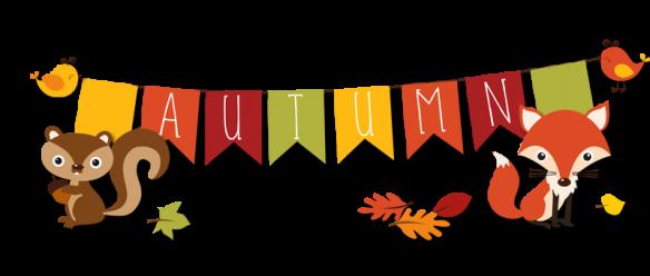 autumn critters banner