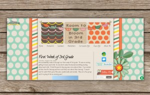 room to bloom in third grade